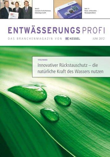 Innovativer Rückstauschutz – die natürliche Kraft des ... - KESSEL
