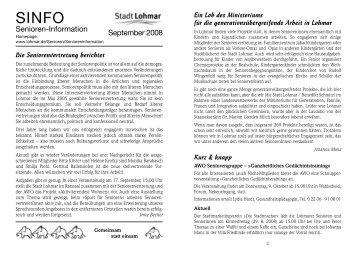 sinfo september 2008_Internet.qxp - Stadt Lohmar