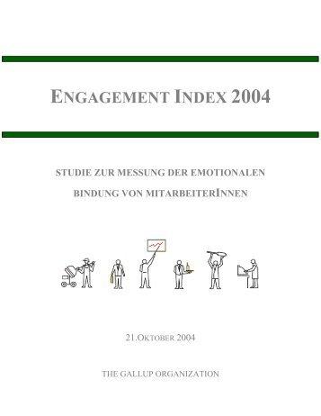 engagement index 2004 studie zur messung der emotionalen