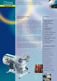 Prospekt Kolbenkompressor TE - HAUG Kompressoren AG