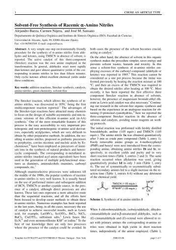 Template for Writing Articles for Thieme Chemistry Journals - RUA ...