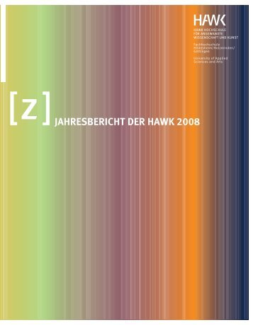 JAHRESBERICHT DER HAWK 2008
