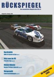 VR-Wandertag 2005 - Virtual Racing eV