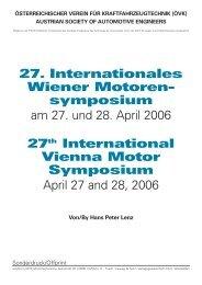 Nachlese zum 27. Internationalen Wiener Motorensymposium