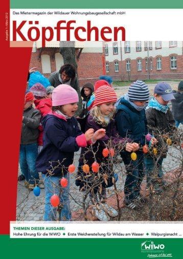 Ausgabe 1 / 2012 - WiWO Wildauer Wohnungsbaugesellschaft