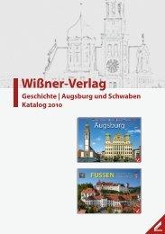 Augsburg und Schwaben - Wißner-Verlag