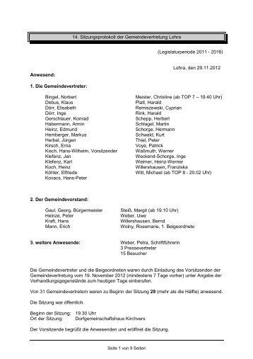 NS GVertretung 2012.11.29 - Lohra