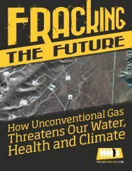 Fracking the Future - DeSmogBlog