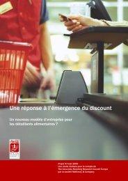 Une réponse à l'émergence du discount - Coke Solutions Home