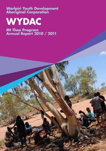 Warlpiri Youth Development Aboriginal Corporation Mt Theo ...