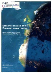 Economic analysis of the European seaport system