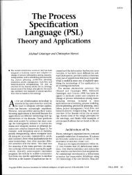 The Process Specification Language (PSL) - Philebus - Texas A&M ...