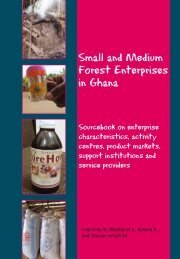 Small and Medium Forest Enterprises in Ghana - PROFOR