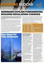 Building Blocks - Edition 7 - HCD Group