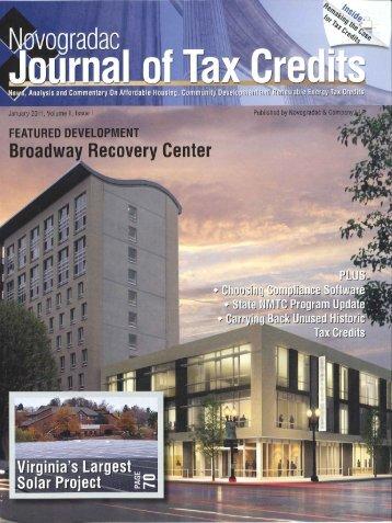 NMTCs, Bonds Fund Mental Health Center - Central City Concern