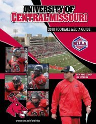 2010 Football Media Guide - of College Football Games