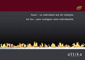 Prospekt Gas-Feuerstellen - Hess und Partner