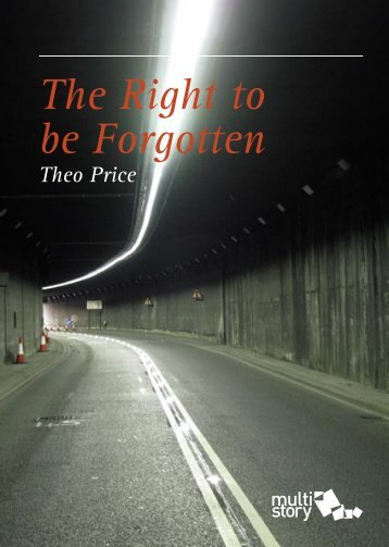 The Right to be Forgotten, Theo Price - Multistory