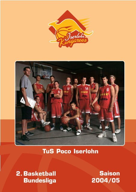 2 Basketball Bundesliga Saison 200405 Tus Poco Iserlohn