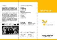 Wir über uns (Stand - BKK-Landesverband NORDWEST