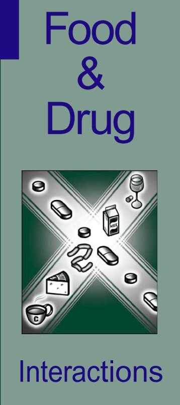 Food & Drug – Interactions