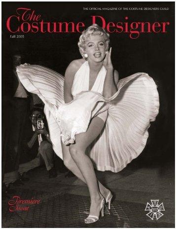 cdg december 06 cover - Costume Designers Guild IATSE Local 892