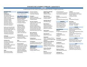 Pharmacy Formulary Tier 1 (PDF)