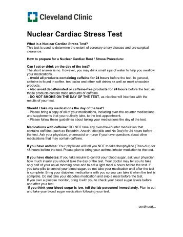 Adenosine Nuclear Stress Test Pdf Coulis Cardiology