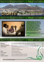 Projects Abroad South African Newsletter NOVEMBER 2011 ...