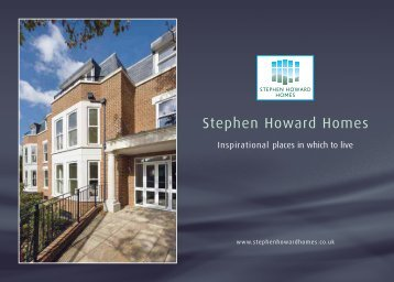 to download PDF Brochure - Stephen Howard Homes