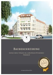 Baubeschreibung, Gustav-Adolf Str. 169a / 169b, Heinersdorfer Str ...