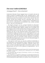 Emerging Church - TheoBlog