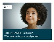 Download Nuance Presentation - The Nuance Group