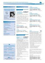 Beratung: Maria Sonnenburg, Tel. 0 59 07-77 - Volkshochschule ...
