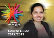Course Guide 2012/2013 - National Union of Teachers