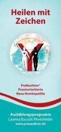 Ausbildungsprogramm - PraNeoHom