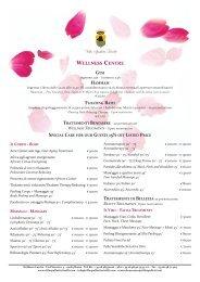 Wellness CenTRe - Villa Spalletti Trivelli