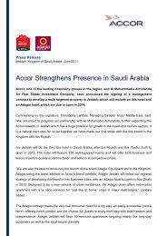 Accor Strengthens Presence in Saudi Arabia _E
