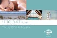 THALASSOTHÉRAPIE & SPA - Thalassa sea & spa