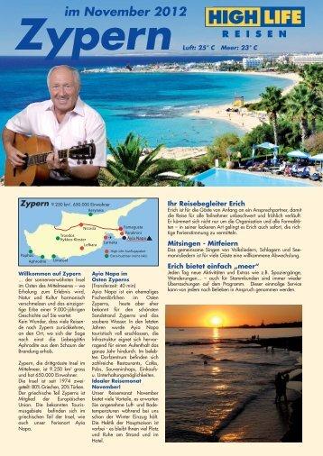 FolderZypern2011_Folder Zypern - Highlife Reisen: Startseite