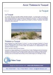 Accor Thalassa le Touquet - Allo-Thalasso