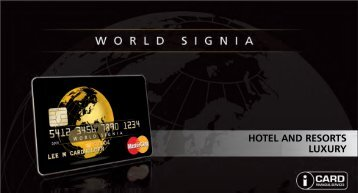 Hotel and resorts luxury - Icard World Signia