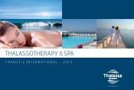 THALASSOTHERAPY &SPA - Thalassa sea & spa