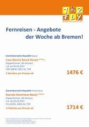 Dom.-Rep., Spanien u.a. - PSW Reisen Kiel