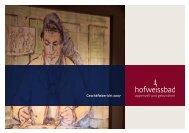 Geschäftsbericht 2007 - Hotel Hof Weissbad