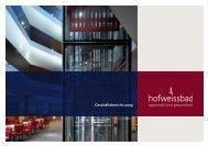 Geschäftsbericht 2009 - Hotel Hof Weissbad