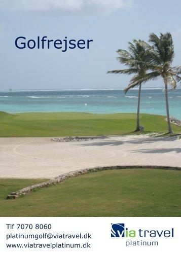 Golfrejser - onlinecatalog.dk