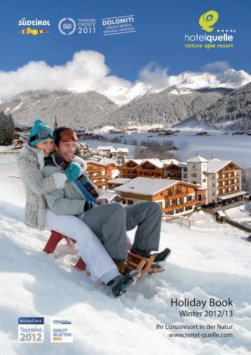 Holiday Book - Winter 2012/13 - Hotel Quelle