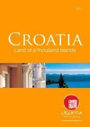 Land of a thousand islands - Croatia tours