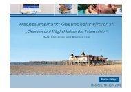 Wachstumsmarkt Gesundheitswirtschaft - e-Learning Baltics